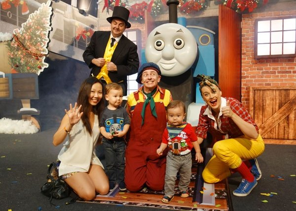 Thomas and Friends at City Square Mall