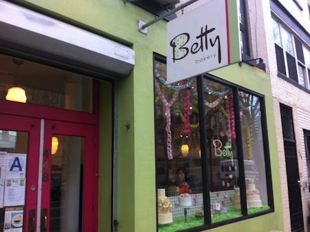 Betty's Bakery, Boerum Hill, Brooklyn.