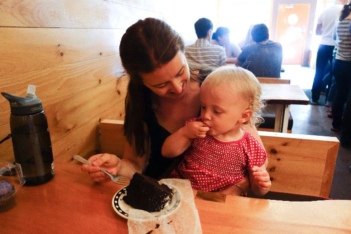 Baked: kid-friendly cafes, Red Hook, New York - via brunchwithmybaby.com