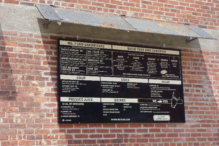 No. 7 Sub: kid-friendly cafes, DUMBO, New York - via brunchwithmybaby.com