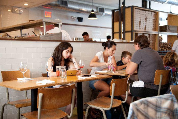 Franny's: kid-friendly restaurants, Prospect Heights, New York, via brunchwithmybaby.com