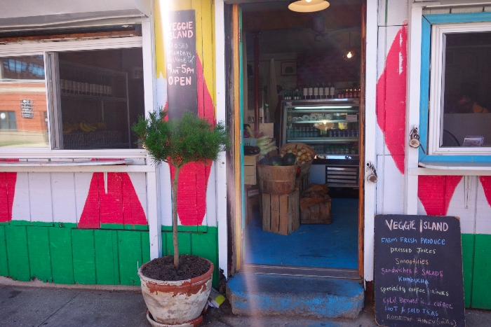 Veggie Island: kid-friendly cafes, Rockaways Day Trip Guide, via brunchwithmybaby.com
