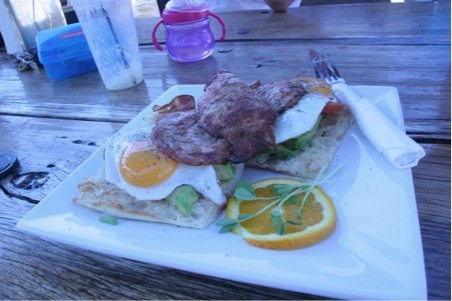Flowercino- kid-friendly restaurants, Caringbah, NSW- via brunchwithmybaby.com
