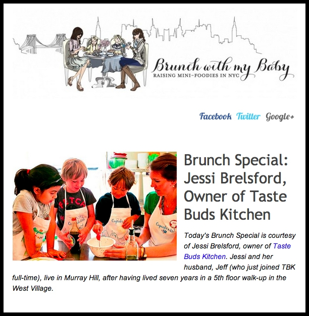 The Brunch With My Baby newsletter is here!