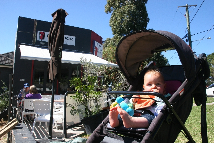 Post box - kid-friendly restaurants, Newtown, NSW- via brunchwithmybaby.com