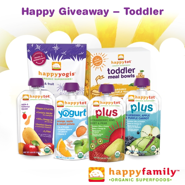 #Happy Family Tot #GIVEAWAY via brunchwithmybaby.com