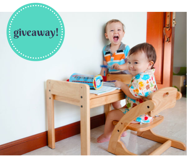 BUONO desk and chair giveaway - Brunch With My Baby Singapore