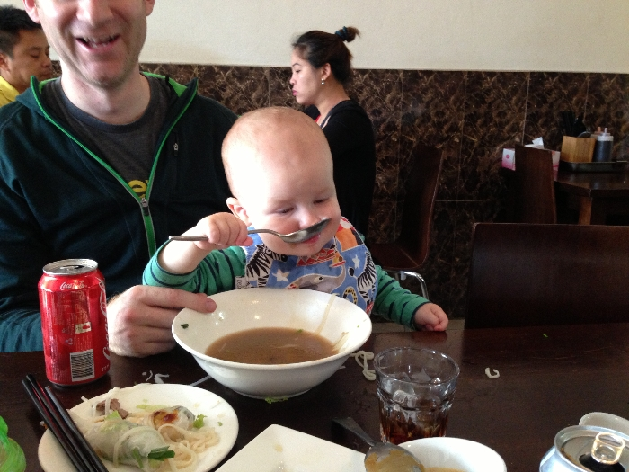 You can't get much more into your pho. Photo by Emily Staresina.