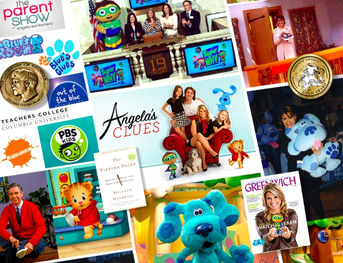 An interview with Angela Santomero, creater of #bluesclues & #danieltiger via brunchwithmybaby.com