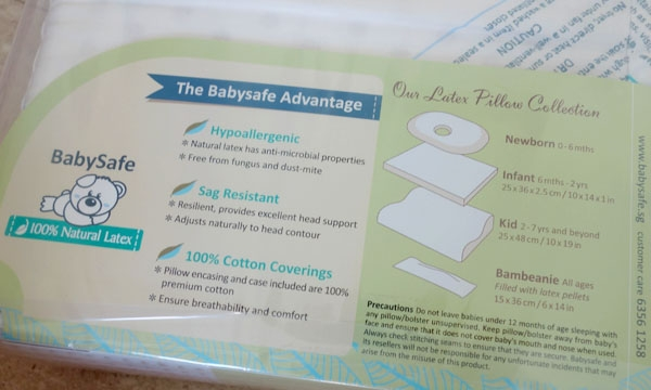 Giveaway Win One Of Five Babysafe Kid Pillows Worth 48