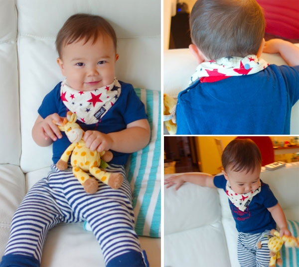 Skibs bandana bibs - Brunch With My Baby Singapore