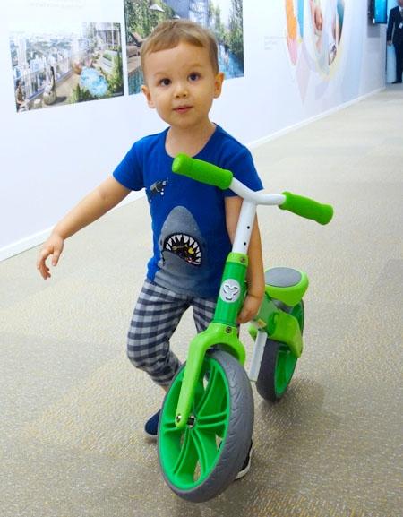 Y Velo Balance Bike - Brunch With My Baby Singapore