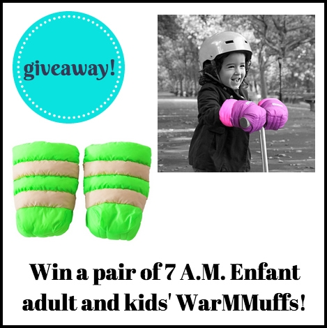 #7AMEnfant #WarMMuffs #giveaway via brunchwithmybaby.com