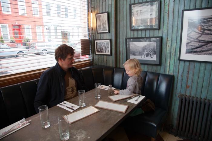 Cafe Colette, #kidfriendly #restaurants #Williamsburg via brunchwithmybaby.com