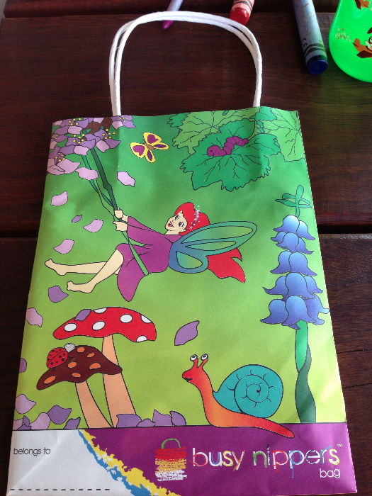 Little Nippers goodie bag for kids