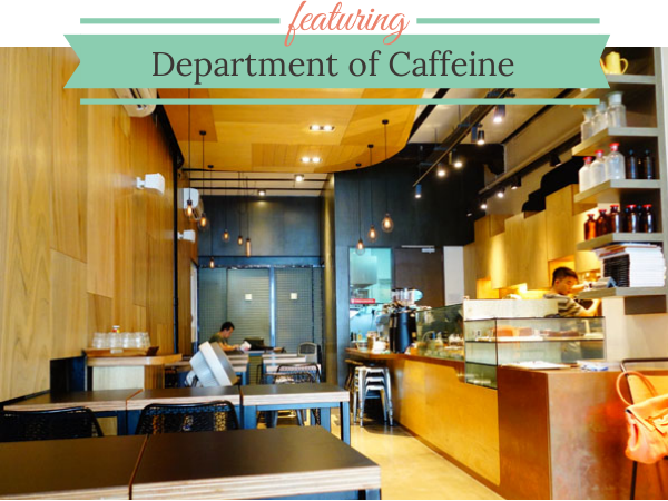 DEPARTMENT OF CAFFEINE: Kid-Friendly Cafes, Tanjong Pagar, Singapore