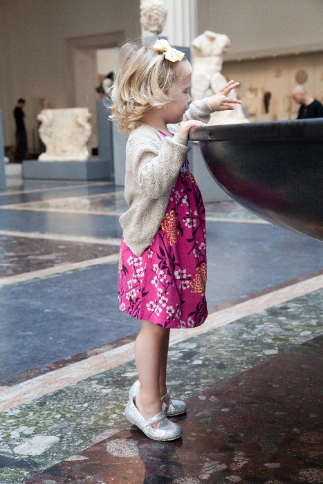 A Day At The Met With Kids via brunchwithmybaby.com