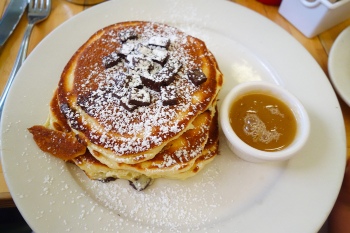 Chocolate Chunk Pancakes at Clinton St. Baking Company, LES, New York ...