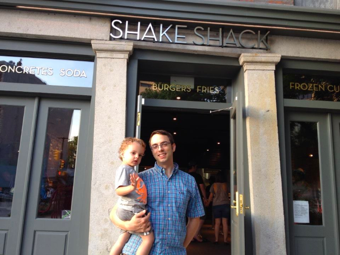 Shake Shack Opens in DUMBO via brunchwithmybaby.com