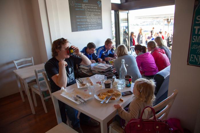 Lamrock Cafe #kidfriendly #bondi #beach #bondibeach #sydney via brunchwithmybaby.com