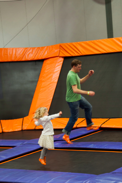 Sky Zone Little Leapers #Sydney #Sydneykids via brunchwithmybaby.com