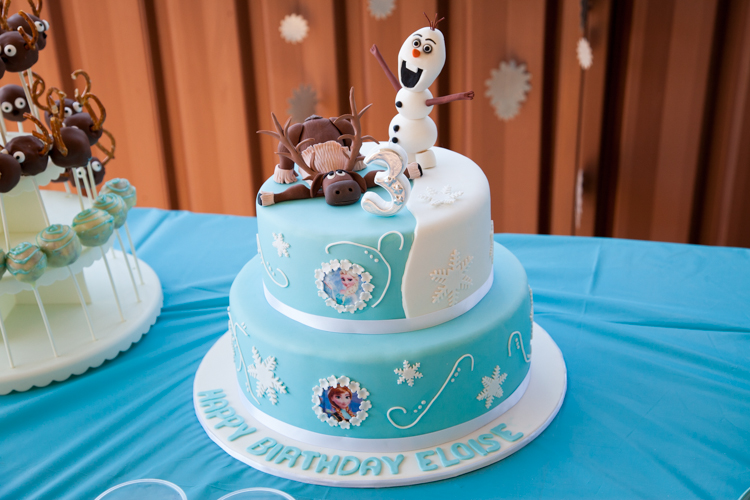 #Frozen #birthday #party via akissgoodnight.co