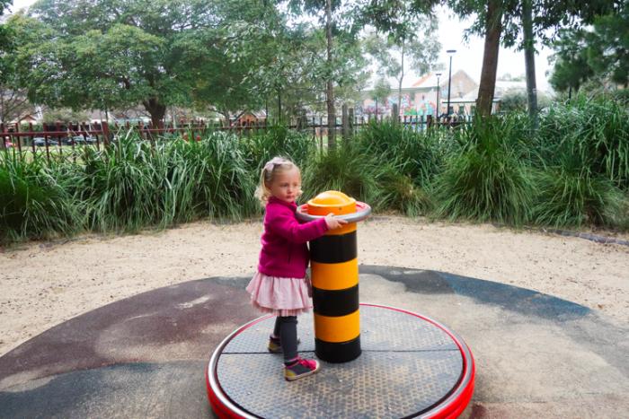Camperdown Memorial Playground, #Newtown #Sydney via brunchwithmybaby.com