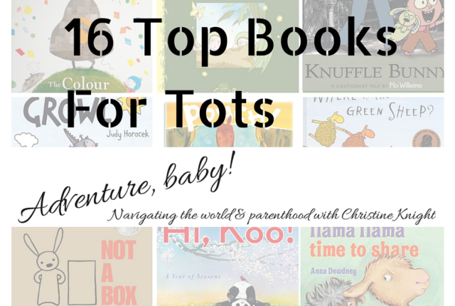 Top Books For Tots via christineknight.me