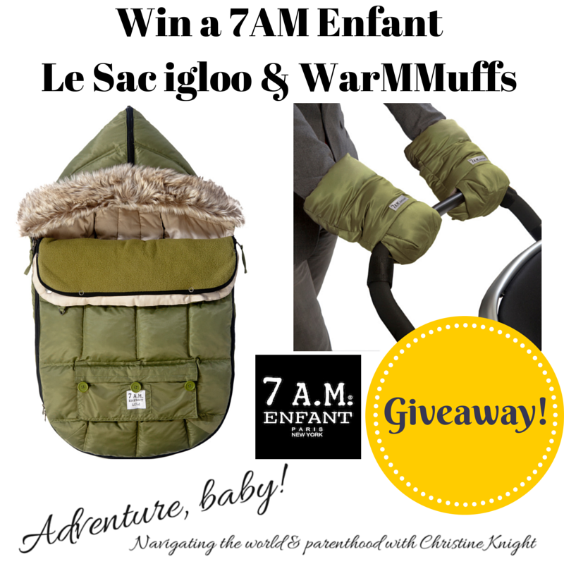 7AM Enfant #Giveaway via christineknight.me
