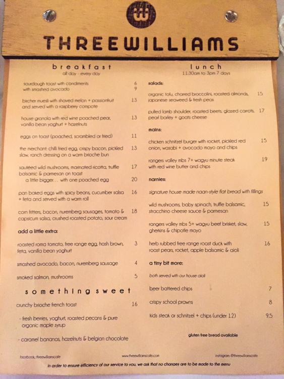 Three Williams Cafe #Redfern #Sydney via christineknight.me