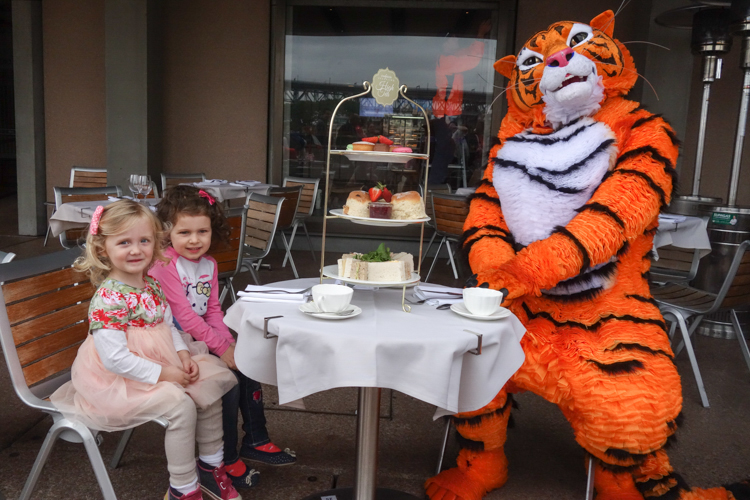 The Tiger Who Came To Tea via christineknight.me