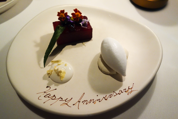 Anniversary Night Out at Aria and Quay Grand Pullman #sydney via christineknight.me
