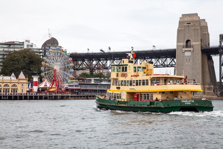 #Sydney Harbour Ferry - christineknight.me