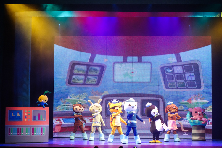 Octonauts Live! Operation Reef Shield via christineknight.me