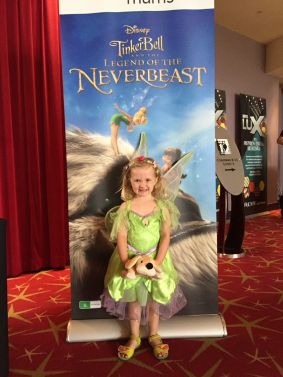 #TinkerBell and the NeverBeast  movie via christineknight.me