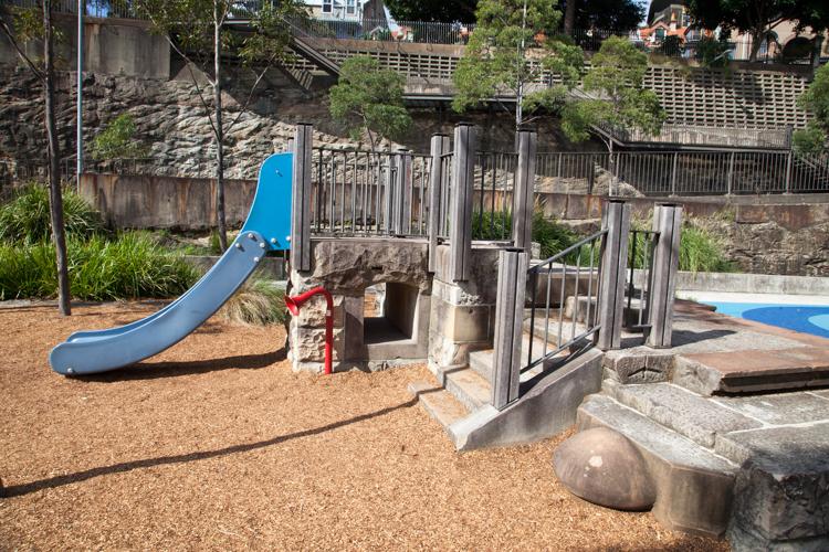 Pyrmont Playground and Cafe #Sydney via christineknight.me