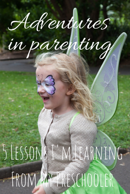 5 Lessons I'm Learning From My Preschooler via christineknight.me