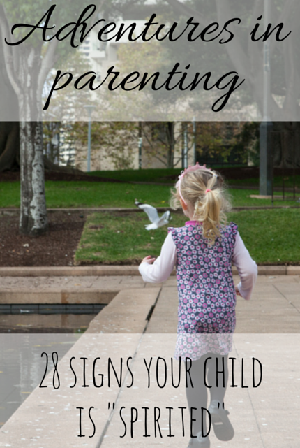 28 Signs Your Child Is Spirited #parenting via christineknight.me
