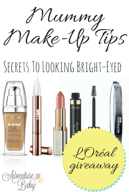 Mummy #Makeup via christineknight.me #giveaway