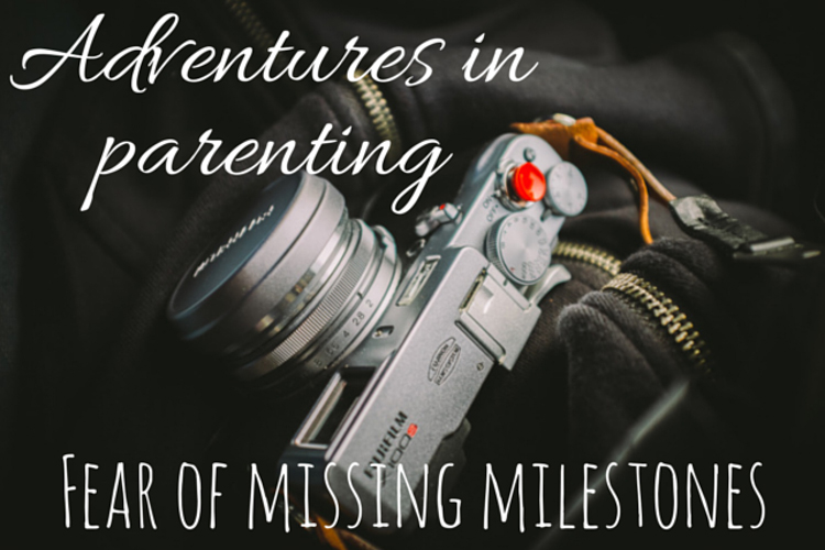 Fear of missing milestones #parenting #kids via christineknight.me