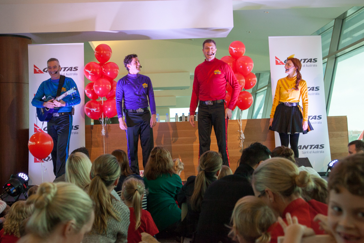 The Launch Of Qantas' Joey Club With The Wiggles - Adventure