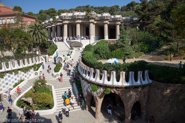 Park Guell #barcelona via christineknight.me