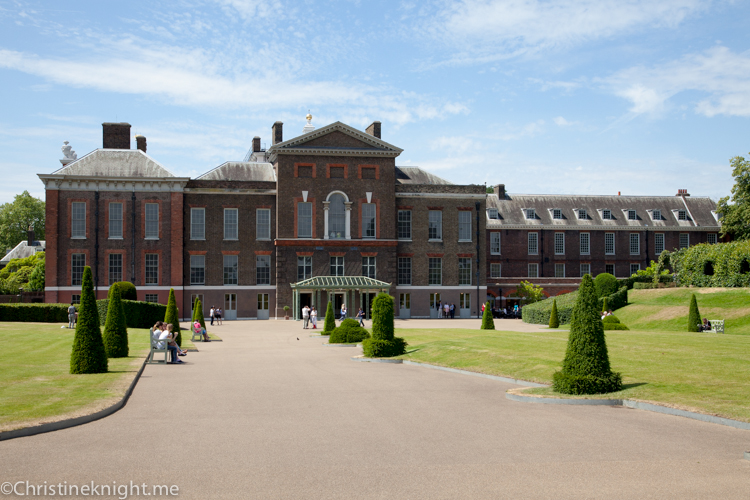 Kensington Palace #London via christineknight.me