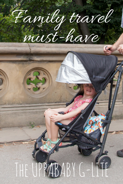 Family Travel Must-have: UPPAbaby G-LITE #stroller #familytravel #framilyfriendly