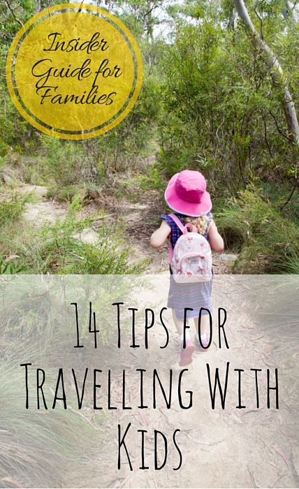 14 Tips For Travelling With Kids via christineknight.me #familytravel