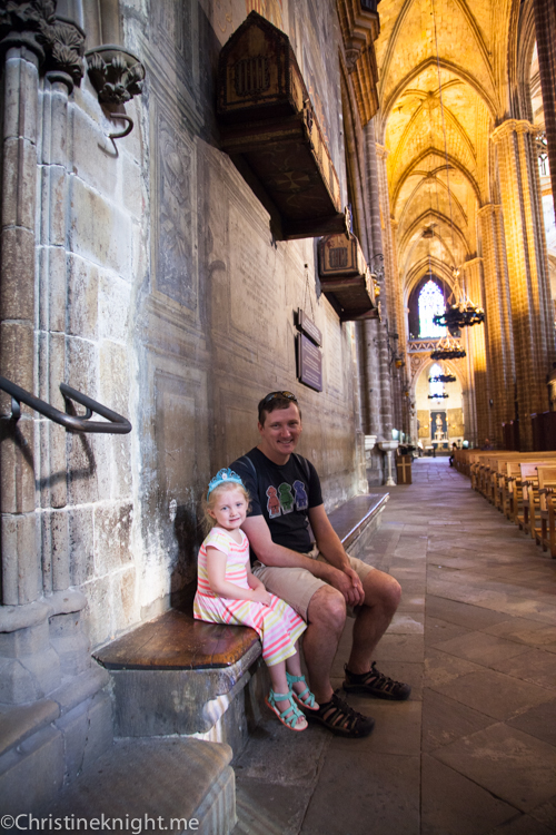 Travel Guide: Barcelona With Kid via christineknight.me