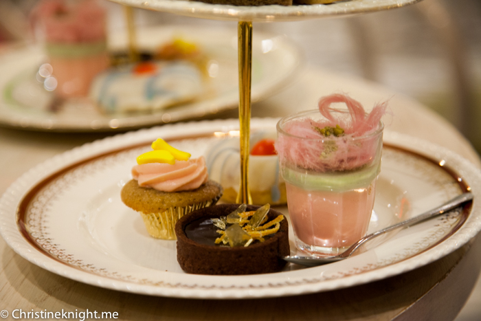 Katherine Sabbath high tea at The Tea Salon #Sydney via christineknight.me