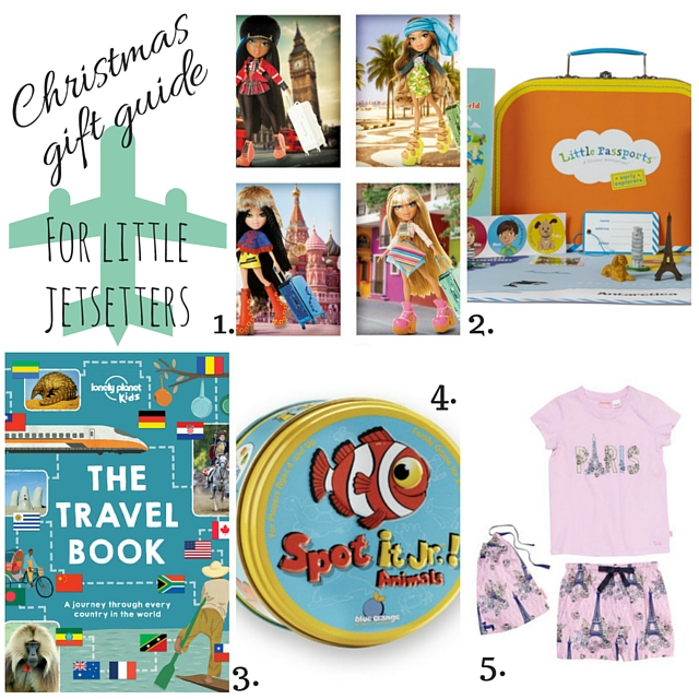 Christmas Gife Guide for Little Jetsetters via christineknight.me