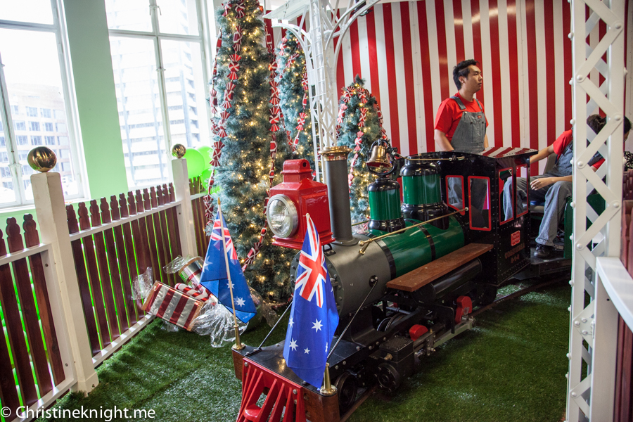 The Opening of the Myer Giftorium via Christineknight.me