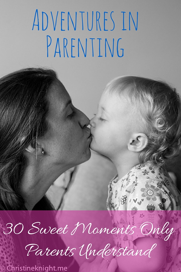 30 sweet moments only parents understand via christineknight.me